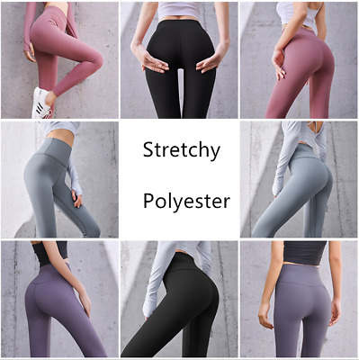 AU15.88 • Buy Women's Yoga Leggings Fitness Push Up Pants Sports Gym Running Workout Trousers