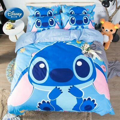$119.99 • Buy Lilo Stitch 3D Bedding Set Comforter Cover Summer Bed Clothes 2
