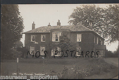 Norfolk Postcard - The Vicarage, Snettisham   DR284 • 13.40£