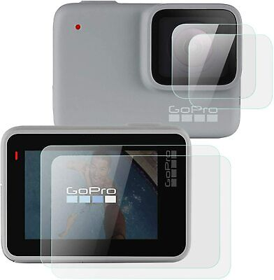 $ CDN6.03 • Buy For GoPro Hero 7 (Silver/White) Lens + Lcd Screen Glass Screen Protector