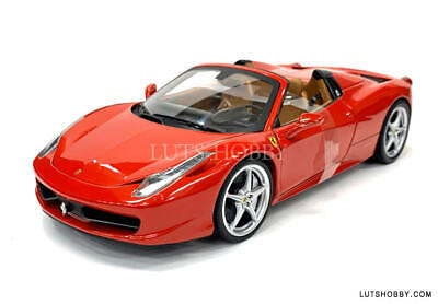 1:18 Hot Wheels Ferrari 458 Italia Spider X5527 • 93.85£