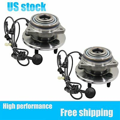 $71.20 • Buy Pair Front  Wheel Bearing & Hub Assembly For Jeep Liberty W/ABS 2002-2007 513176
