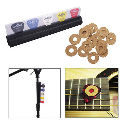 $ CDN13.07 • Buy Guitar Pick Grip Tape Cork Sticks & Guitar Pick Holder Clip For Microphone Stand
