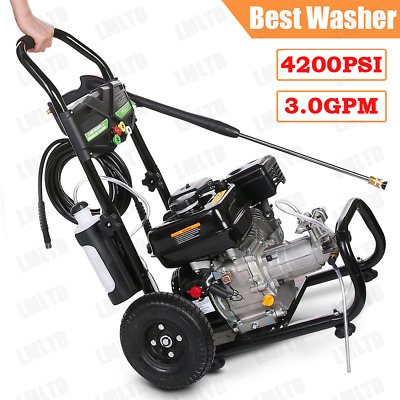 $79.99 • Buy 4200PSI 3GPM Gas Pressure Washer 3500PSI/2300PSI Electric Cleaner Machine 2020