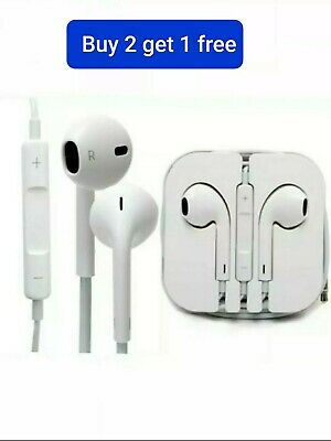 £3.94 • Buy Headphones Earphones For Samsung Sony Google HTC IPhne + Mic And Any Android