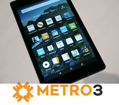 AU119.95 • Buy Amazon Kindle Fire HD8 6TH GEN Tablet Wi-Fi EReader 16GB BLACK