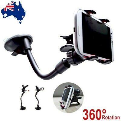 AU9.50 • Buy AU Car Windshield Mount Cradle Holder Stand For Mobile Cell Phone GPS IPhone