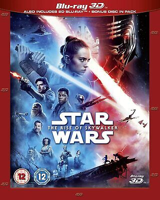 AU32.23 • Buy Star Wars: The Rise Of Skywalker - Blu-Ray 3D + 2D [Region Free Disney 3D] NEW