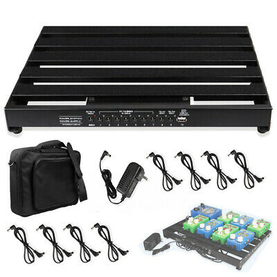$ CDN162.78 • Buy Guitar Powered Effect Pedal Board 15'' X 11  With Power Supply & 8 Power Cable
