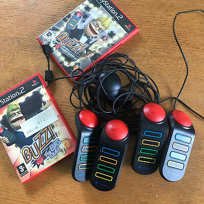 X2 Games Playstation 2 - Buzz The Big Quiz Game With Buzzer Attachment Included • 22.90£