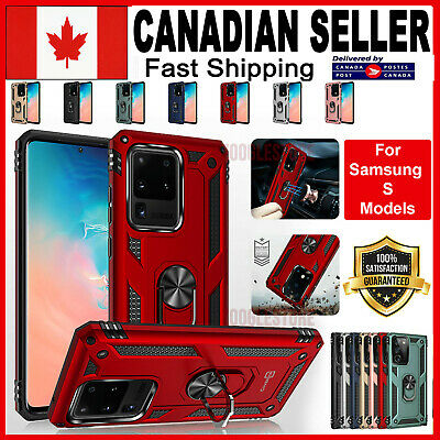 $ CDN9.99 • Buy For Samsung Galaxy S20 Plus Ultra S10 S9 S10e Case Heavy Duty Magnetic 360 Cover
