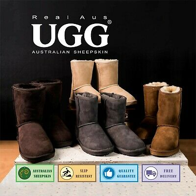 AU59.95 • Buy UGG Real Aus 9 Classic Boots Chestnut/Chocolate/Stone/Sand 5 6 7 8 9 10 11 12 13