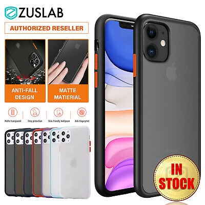 AU12.99 • Buy IPhone 11 Pro XS Max XR XS X Case ZUSLAB Shockproof Slim Matte Cover For Apple