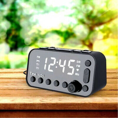 AU30.01 • Buy Digital Alarm Clock DAB & FM Radio Dual Alarms USB Charge 3 Level Backlight LCD