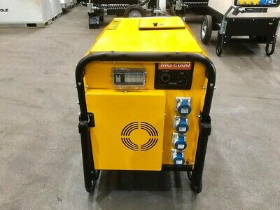 New- 6kVA Lightweight Diesel Generator, Yanmar Engine • 2,440£