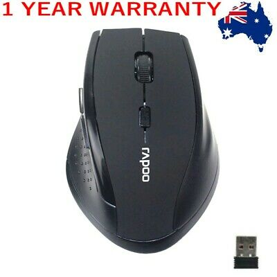 AU12.85 • Buy AU 2.4GHz 6D USB Wireless Optical Gaming Mouse 2000DPI Mice For Laptop Desktop P