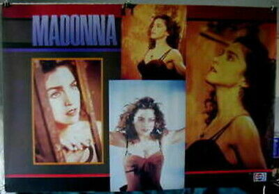 $9.99 • Buy Madonna POSTER 31 X 21 From '89 Pepsi Like A Prayer Era OOP