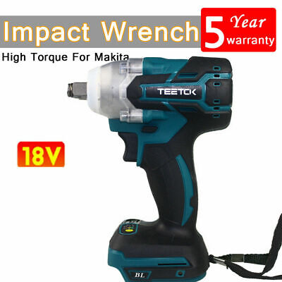18V 1/2  350Nm Impact Wrench Brushless Cordless Drill For Makita Battery DTW285Z • 28.40£