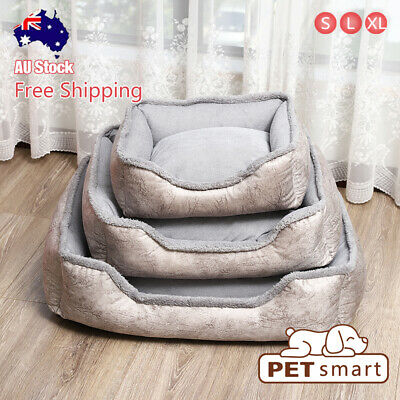 AU31.90 • Buy CW062 Pet/Cat/Dog/Puppy Bed Comfort Cushion Soft Mattress Mat Warm S/L/XL
