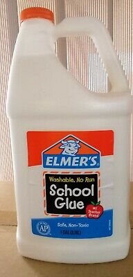 AU25 • Buy Elmers School Glue 3.78L Large Bottle - White - Make Slime - NEW