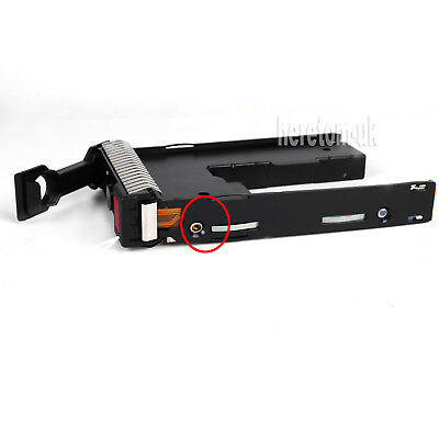 651314 2.5  To 3.5 Tray Caddy Adapter For HP Proliant DL380E ML310E Gen8 G8 G9 • 15.89£