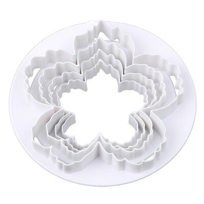 £3.39 • Buy Peony Flower Fondant Mold Sugarcraft Cake Embossing Floral Cutter Mould DIY FA