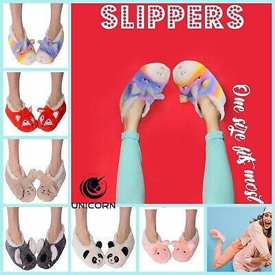 AU29.99 • Buy NUZZLES Women Furry Slipper Sock Non-Slip ONE SIZE FITS MOST 6-9