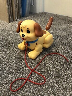 Fisher Price Lil Snoopy Pull Along Puppy Dog 🐶 • 5£