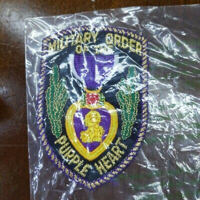 $10.52 • Buy Military Order Of The Purple Heart Fabric Patch