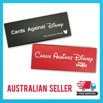 AU49.99 • Buy Cards Against Disney/Cards Against Humanity *Disney Red + Black Edition 2 Pack*