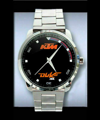 $21.99 • Buy Neu-Selten-KTM-Duke-150-Emblem-Sport-Metal Watch