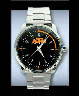 $21.99 • Buy Neu-Selten-KTM-Motorcycle-Emblem-Design-Sport-Metal Watch