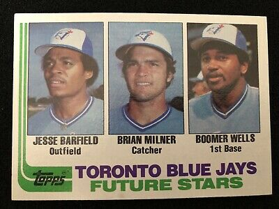 $ CDN5 • Buy 1982 Topps #203 Jesse Barfield Rookie Card NM-MT Or Better Condition...Blue Jays