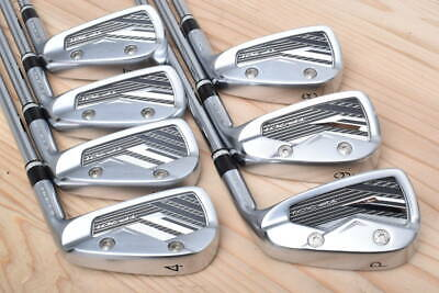 $1768.18 • Buy Used Kamui Tp-701 Iron 4 ~ P 7 Pieces Set Dynamic Gold Ex *Vyr3692