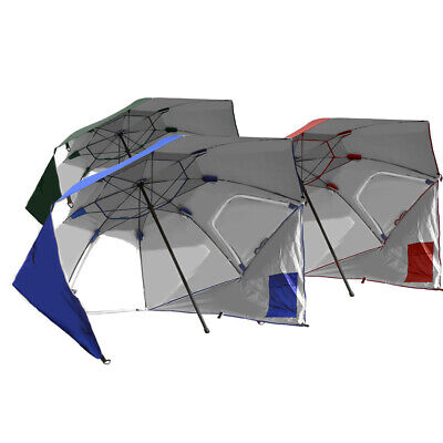 AU49.99 • Buy Beach Umbrella Outdoor Umbrellas Garden Sun Shade Shelter Weather Patio Cover 2M