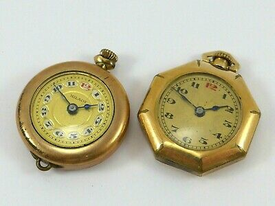$ CDN50 • Buy Lot Of 2 Gold Filled Ladies Vintage Wrist Watches C 1920
