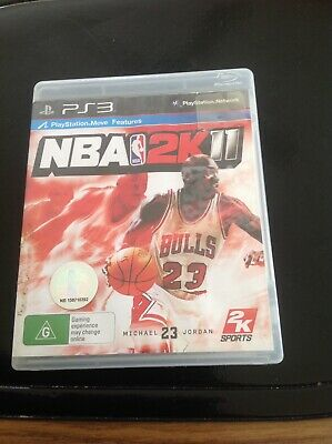 AU0.99 • Buy NBA 2K11 PS3 Game USED 🎮🎮