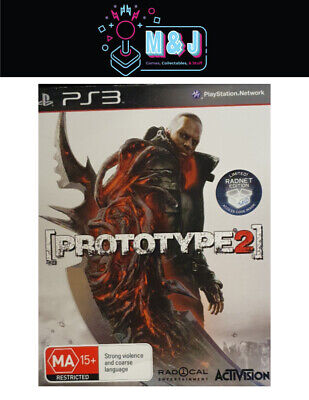 AU14.99 • Buy PS3  -Prototype 2 Limited Radnet Edition -Complete (AUS SELLER)
