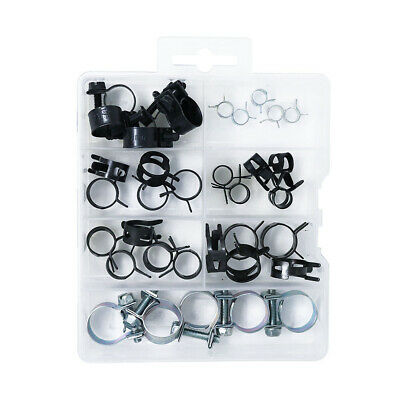 $7.99 • Buy Assorted Corbin Clamps Fuel Injection Hose Clamps Assortment Kit,35 Pcs