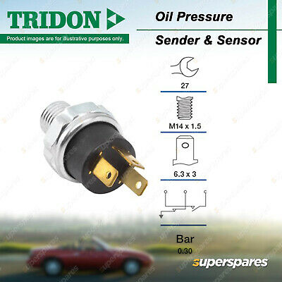 AU64.85 • Buy Tridon Oil Pressure Light Switch For Nissan Pulsar N13 1.6L 1.8L SOHC 8V