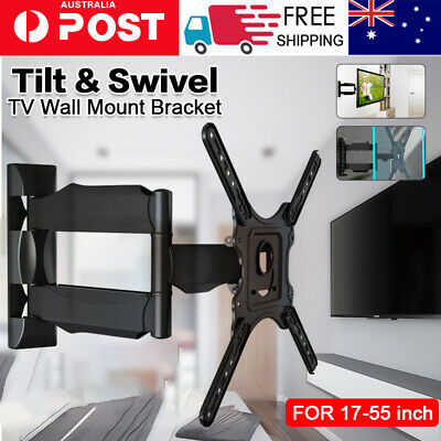 AU19.44 • Buy 2020 Full Motion Tilt VESA TV Wall Mount Bracket Swivel 17 24 32 37 40 42 50
