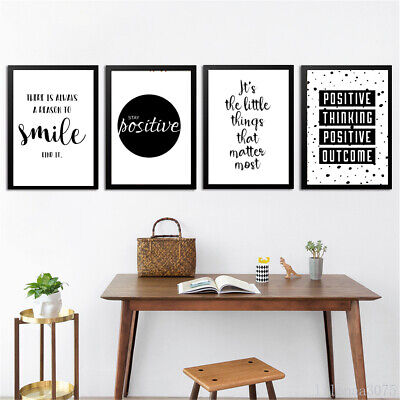 $12.99 • Buy Quote Modern Art Canvas Poster Black&White Prints Wall Picture Home Decoration
