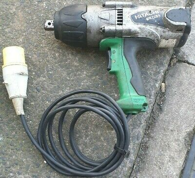 USED HITACHI 3/4 IMPACT WRENCH 110v • 75£