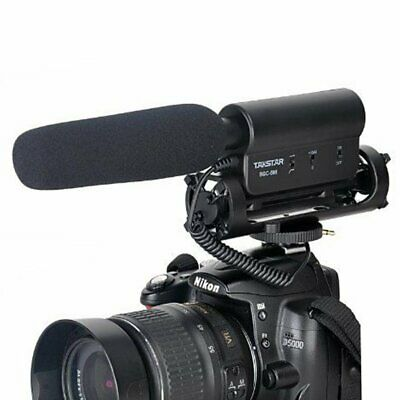 Takstar SGC-598 Video Shotgun Condenser Mic Microphone For Canon Nikon Cameras • 23.99£