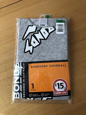 AU10 • Buy Bonds Everyday Coverall Grey 0-3 Months