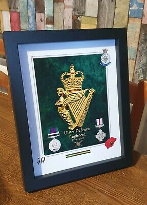 Ulster Defence Regiment 10x8  Frame Picture British Army N Ireland  • 16.49£