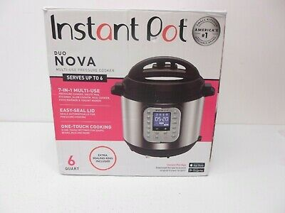 $64.99 • Buy Instant Pot - Duo Nova 6-Quart 7-in-1, One-Touch Multi-Cooker