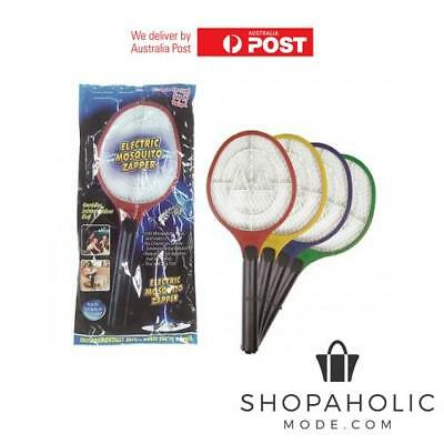 AU12.95 • Buy Bug Zapper Racket Electric Mosquito Fly Swatter Killer Insects Bat Handheld