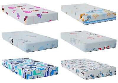£7.99 • Buy BABY FITTED COT BED SHEET PRINTED 100% COTTON MATTRESS 140x70cm