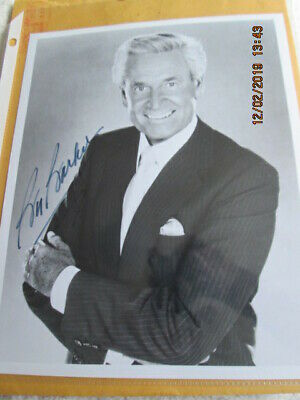 $14 • Buy Bob Barker Autographed 8 X 10 Black And White Photo With Original Mailer Awesome
